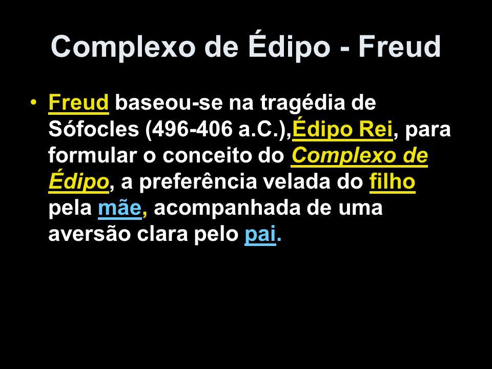 Complexo de Édipo - Freud