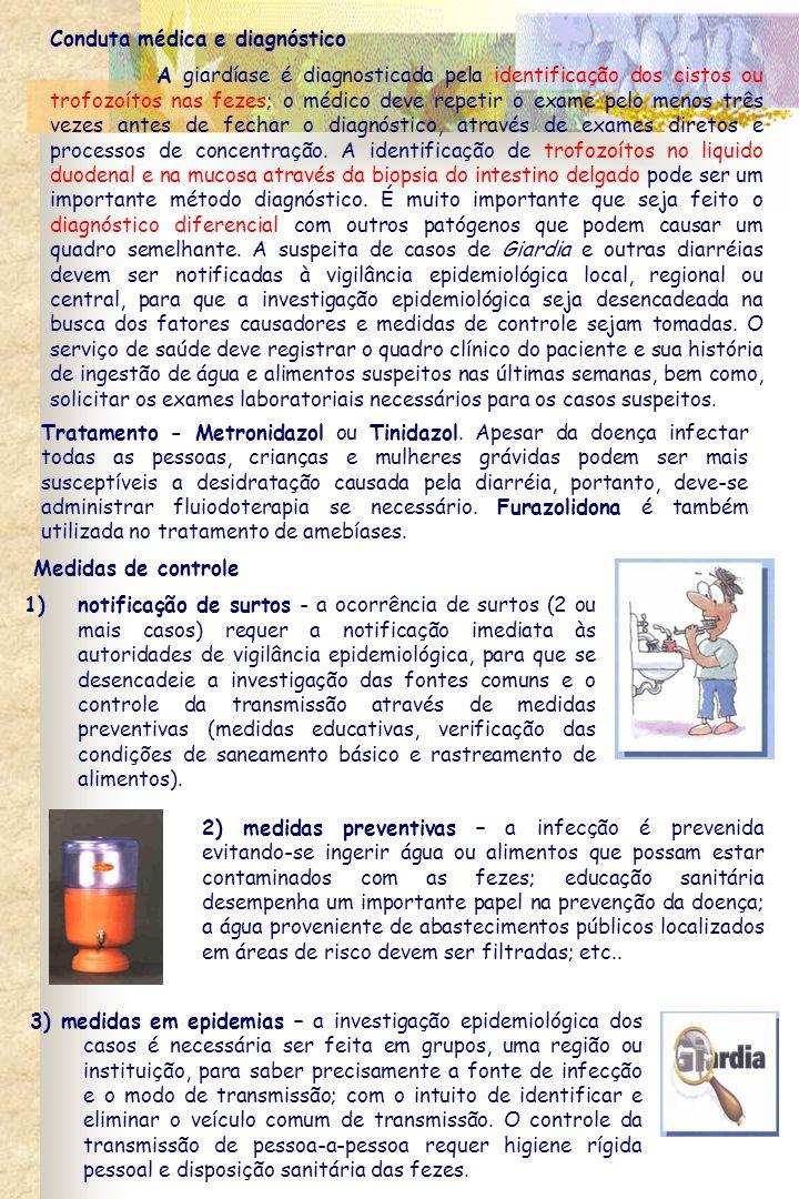Conduta médica e diagnóstico