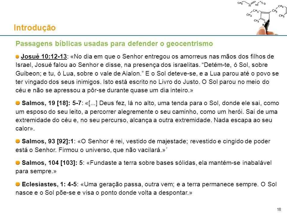 Índice Introdução Do nascimento de Galileu até 1616
