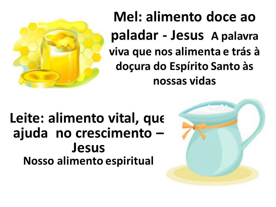 Leite: alimento vital, que ajuda no crescimento – Jesus