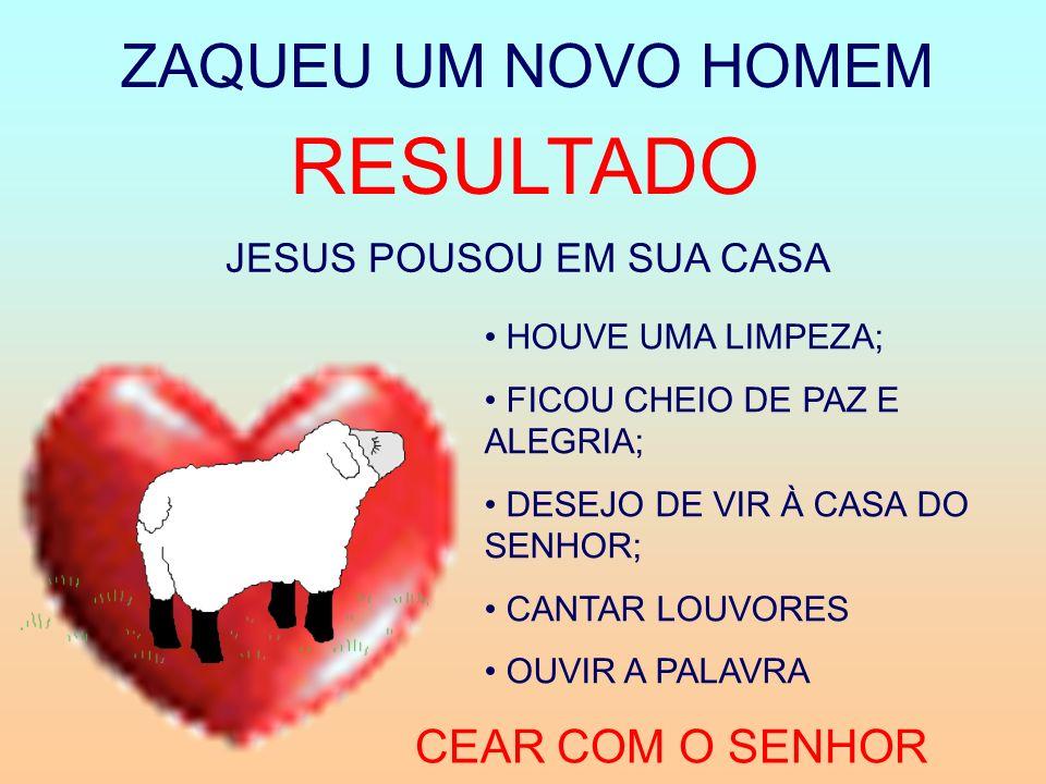 JESUS POUSOU EM SUA CASA