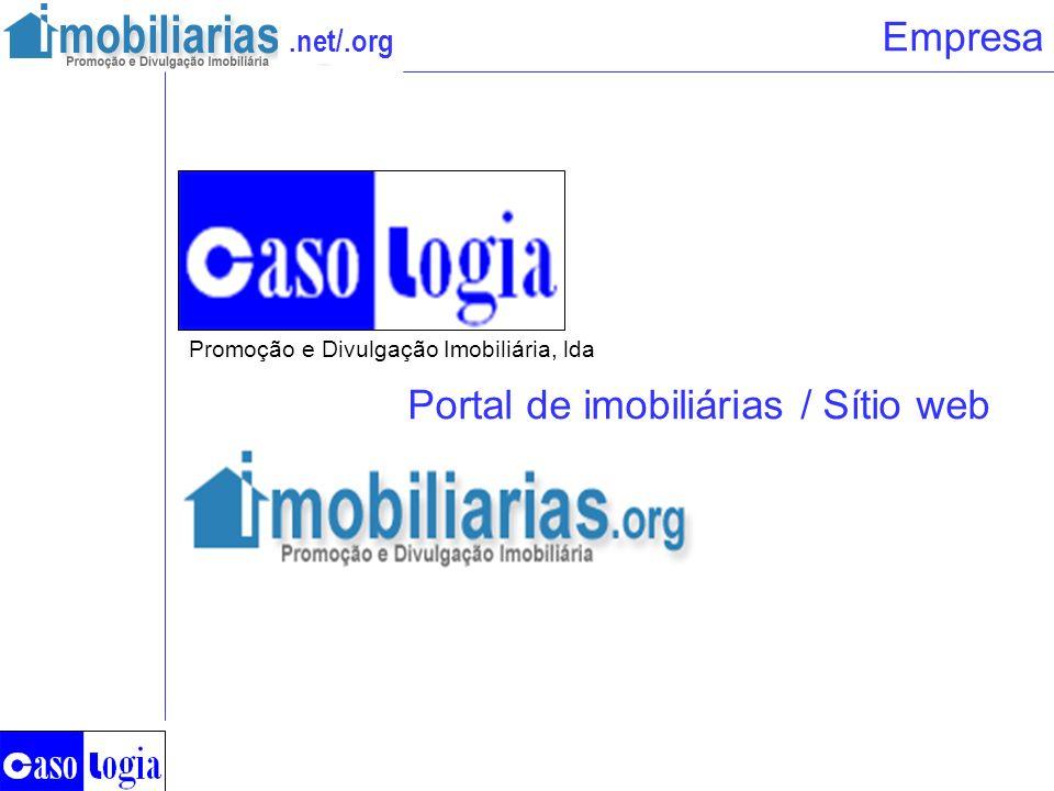 Portal de imobiliárias / Sítio web