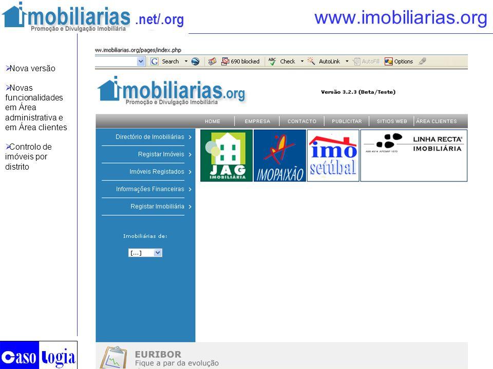 www.imobiliarias.org Nova versão