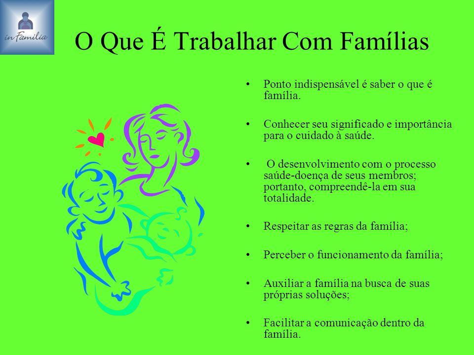 O Que É Trabalhar Com Famílias