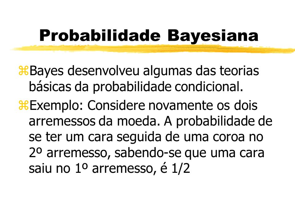 Probabilidade Bayesiana