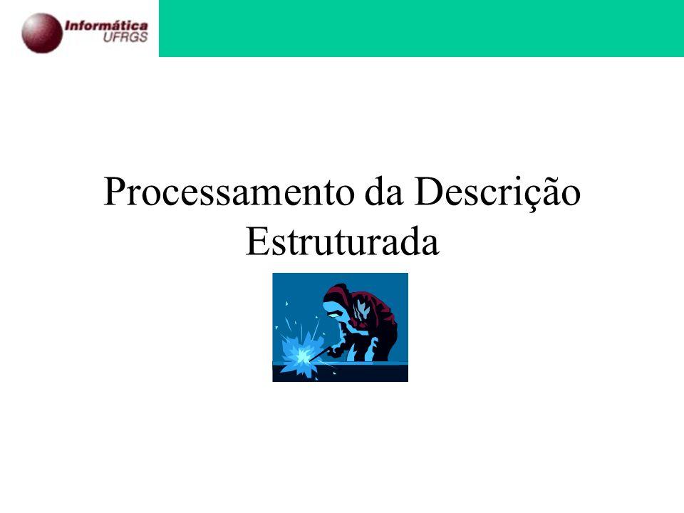 Processamento da Descrição Estruturada