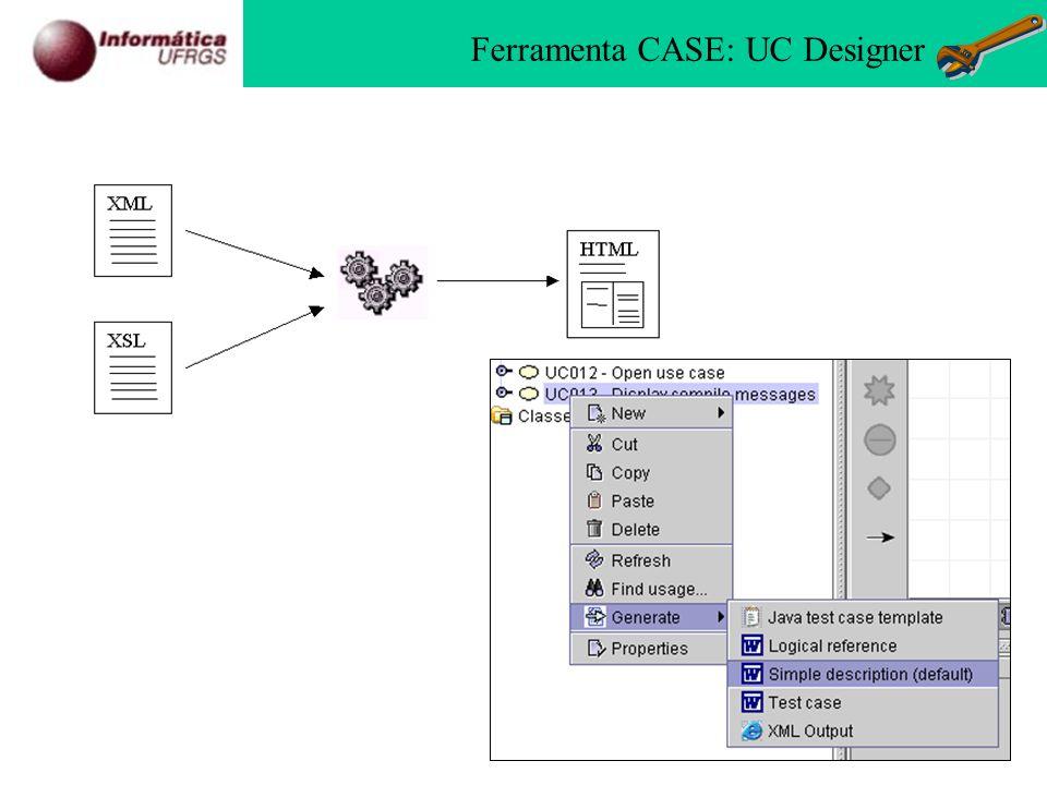 Ferramenta CASE: UC Designer