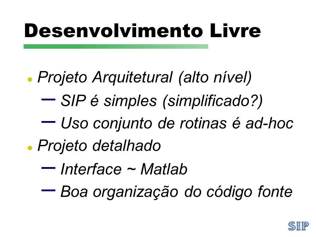 Desenvolvimento Livre