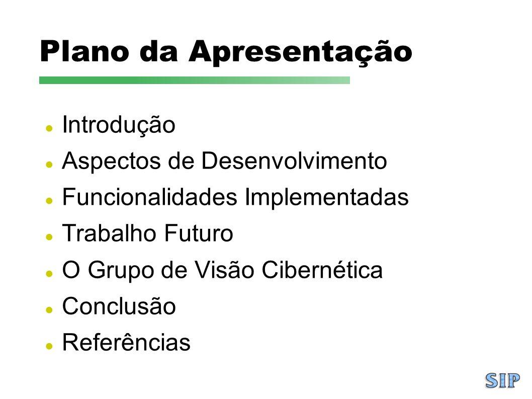 Plano da Apresentação Introdução Aspectos de Desenvolvimento