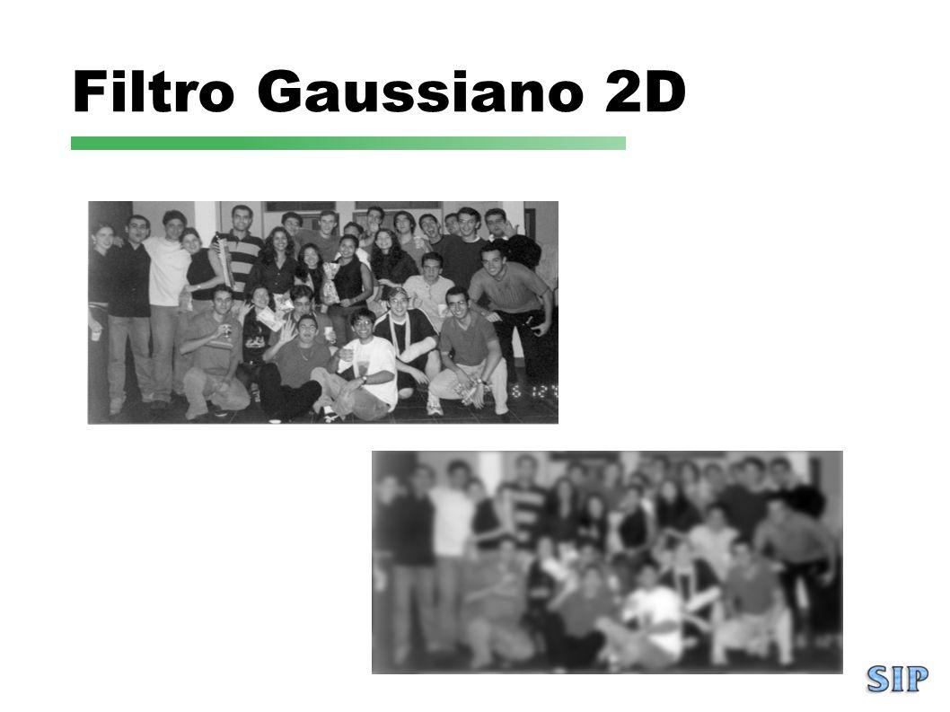 Filtro Gaussiano 2D