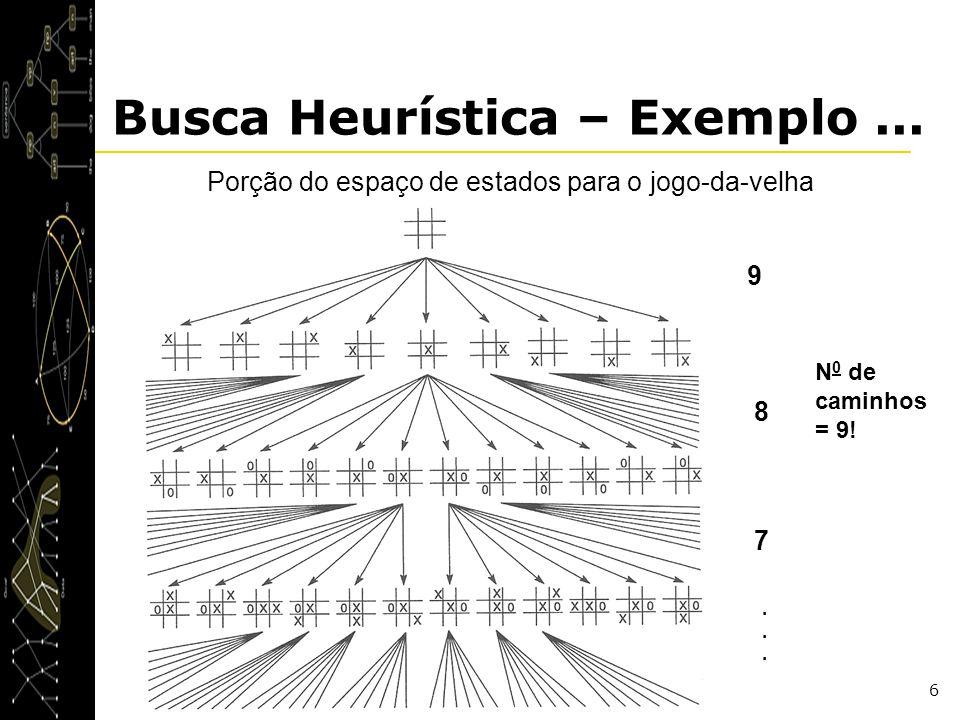 Busca Heurística – Exemplo ...