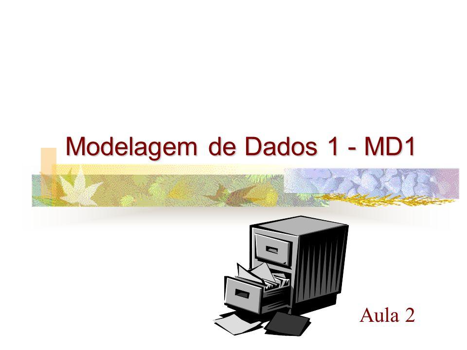 Modelagem de Dados 1 - MD1 Aula 2