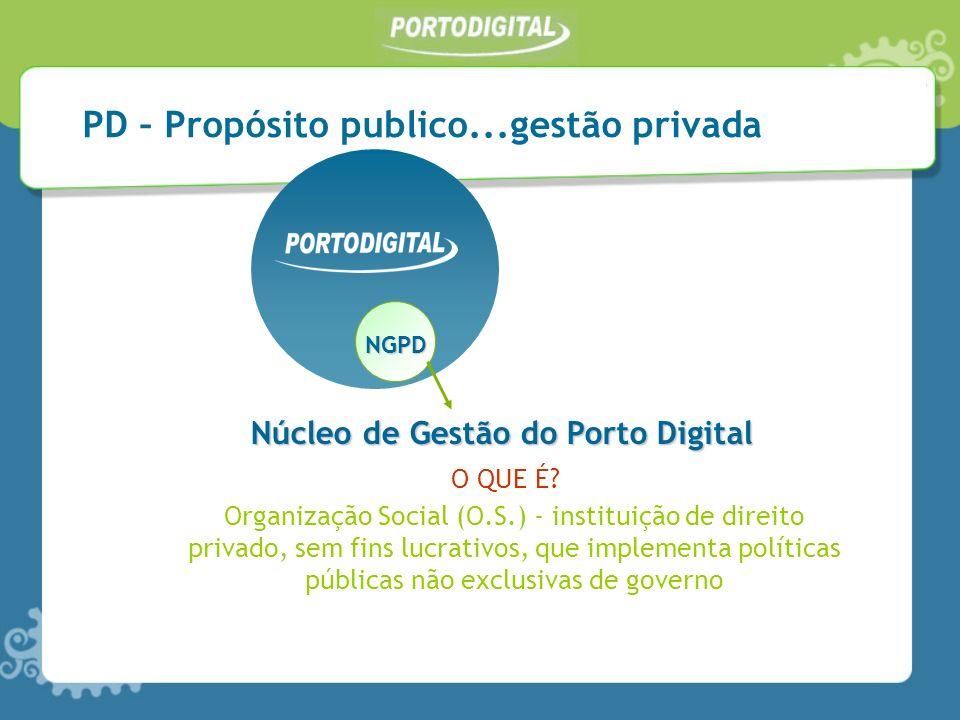 PD – Propósito publico...gestão privada