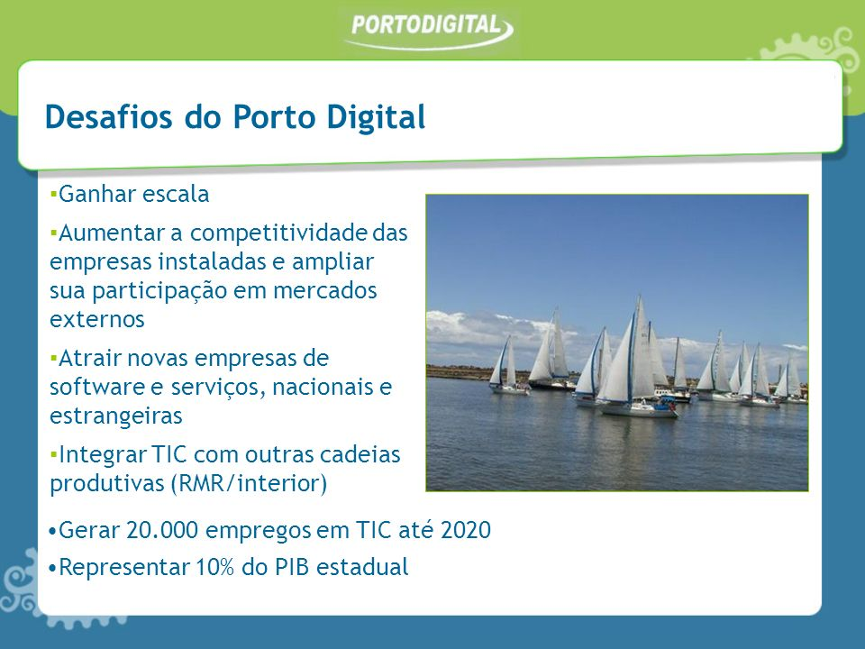 Desafios do Porto Digital