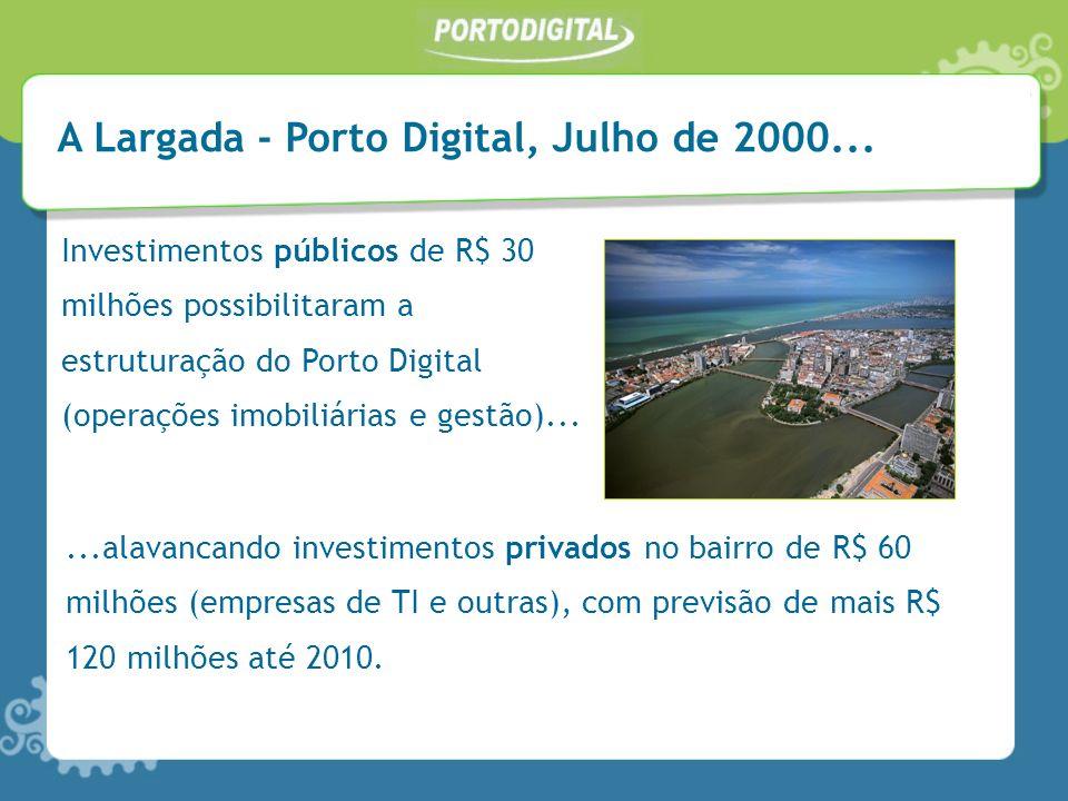A Largada - Porto Digital, Julho de 2000...
