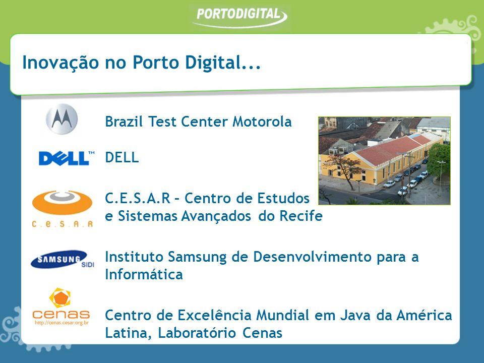 Inovação no Porto Digital...