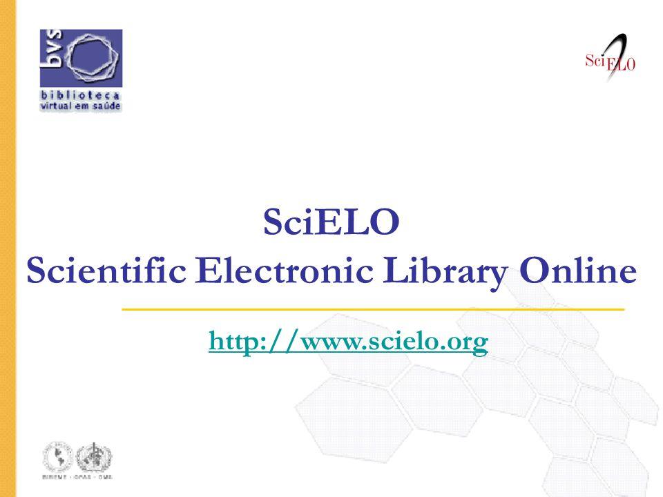 SciELO Scientific Electronic Library Online
