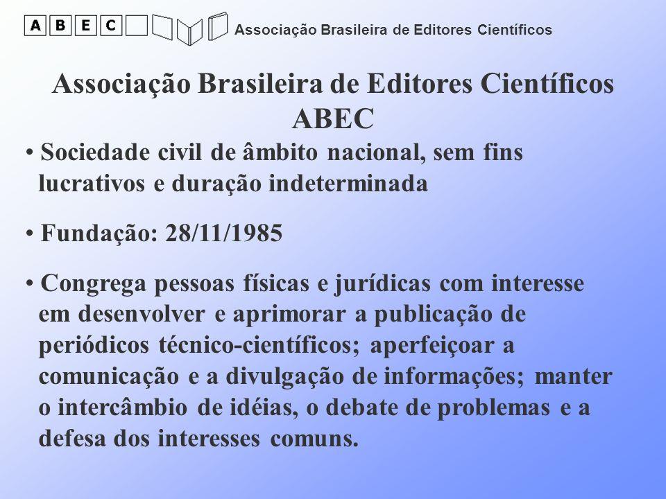 Associação Brasileira de Editores Científicos ABEC