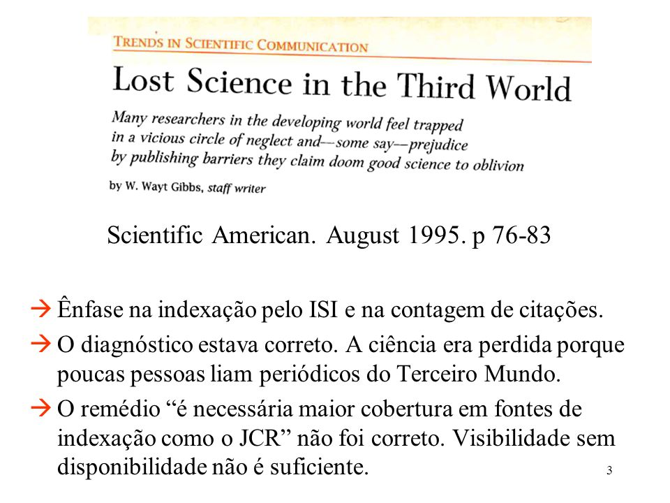 Scientific American. August 1995. p 76-83