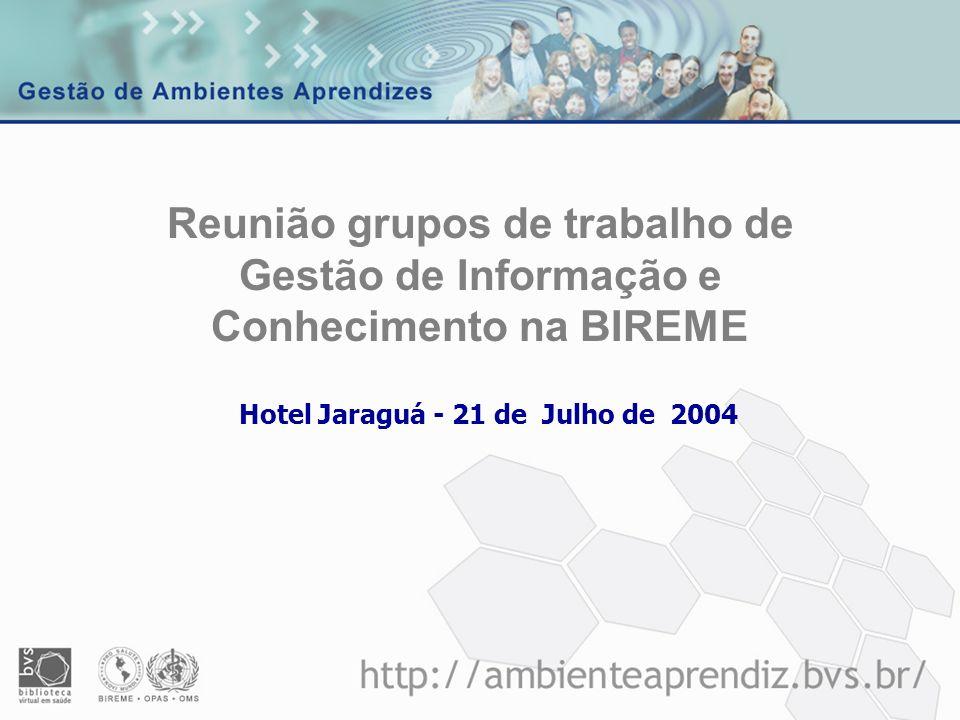 Hotel Jaraguá - 21 de Julho de 2004