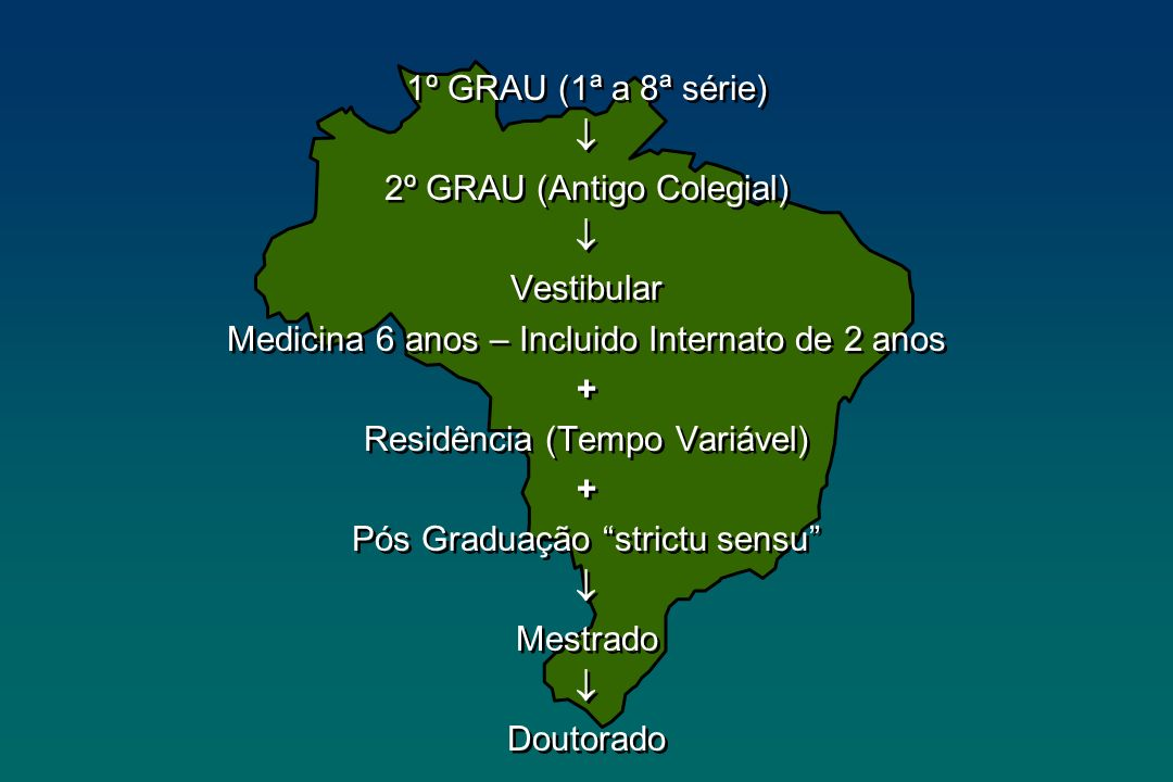 2º GRAU (Antigo Colegial) Vestibular