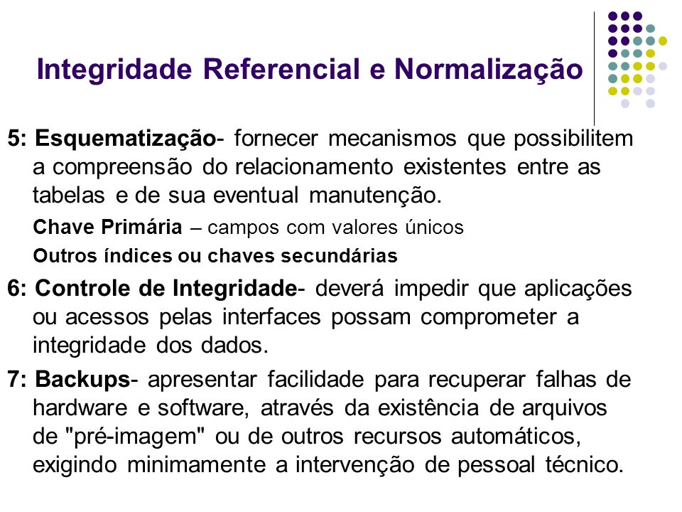 Integridade Referencial e Normalização