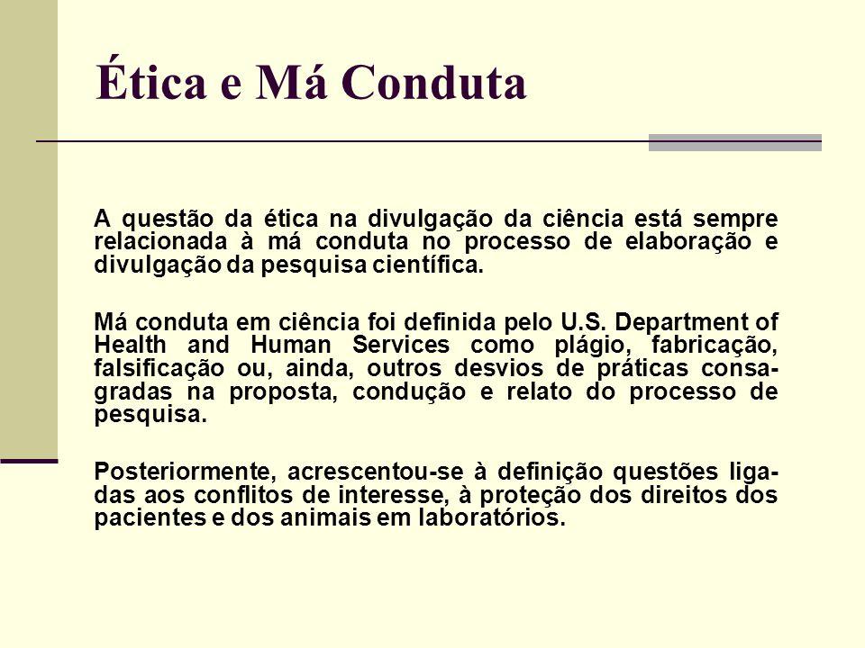 Ética e Má Conduta