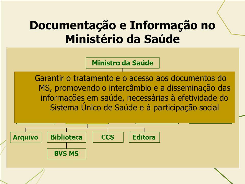 Documentação e Informação no Ministério da Saúde