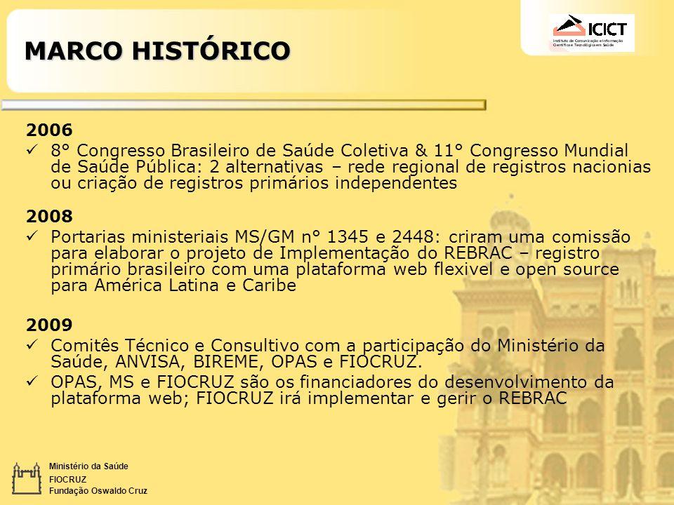 MARCO HISTÓRICO 2006.