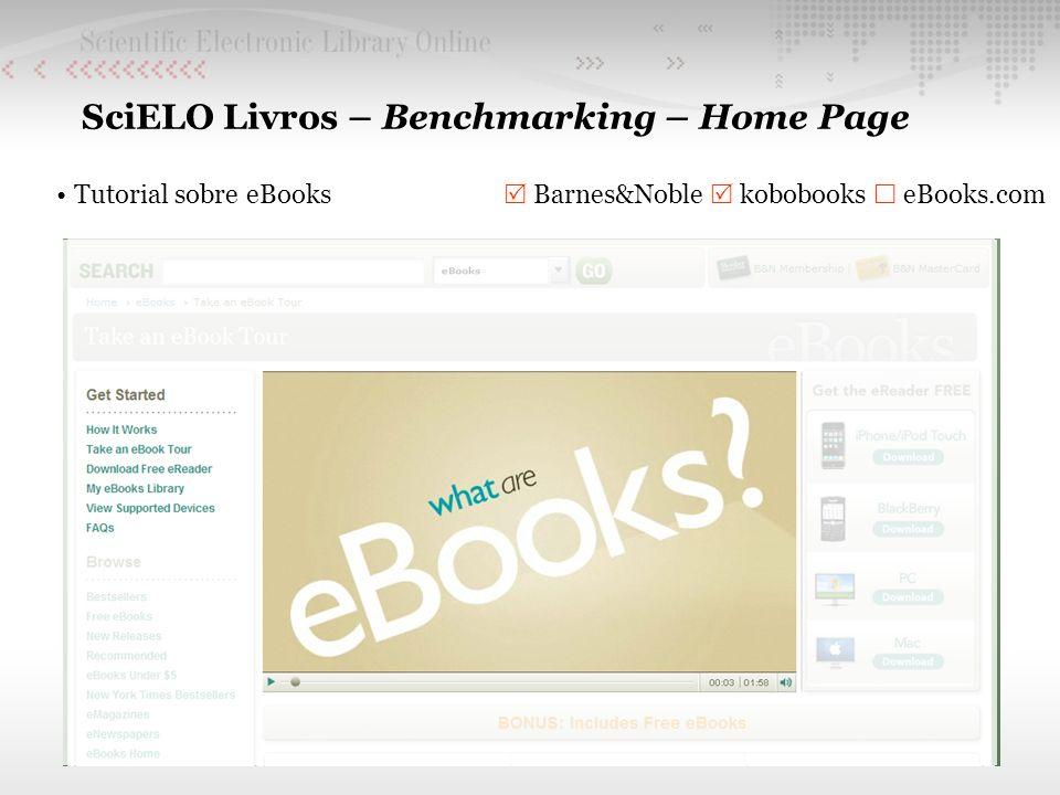 SciELO Livros – Benchmarking – Home Page
