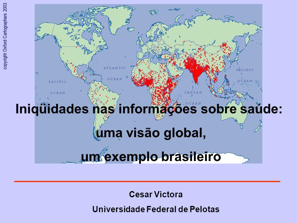 Iniqüidades nas informações sobre saúde: uma visão global,
