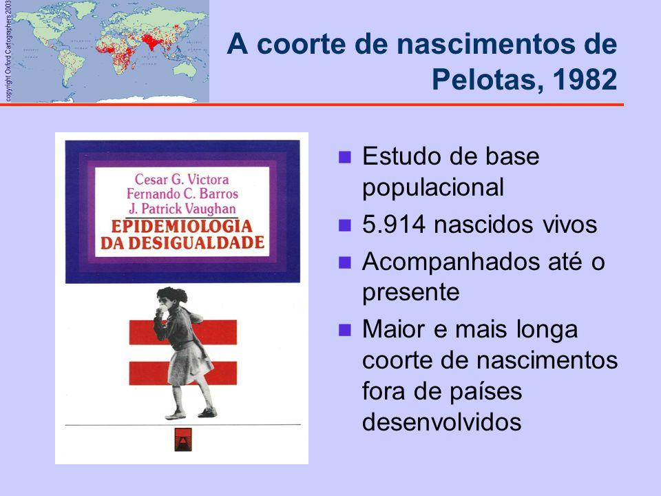 A coorte de nascimentos de Pelotas, 1982