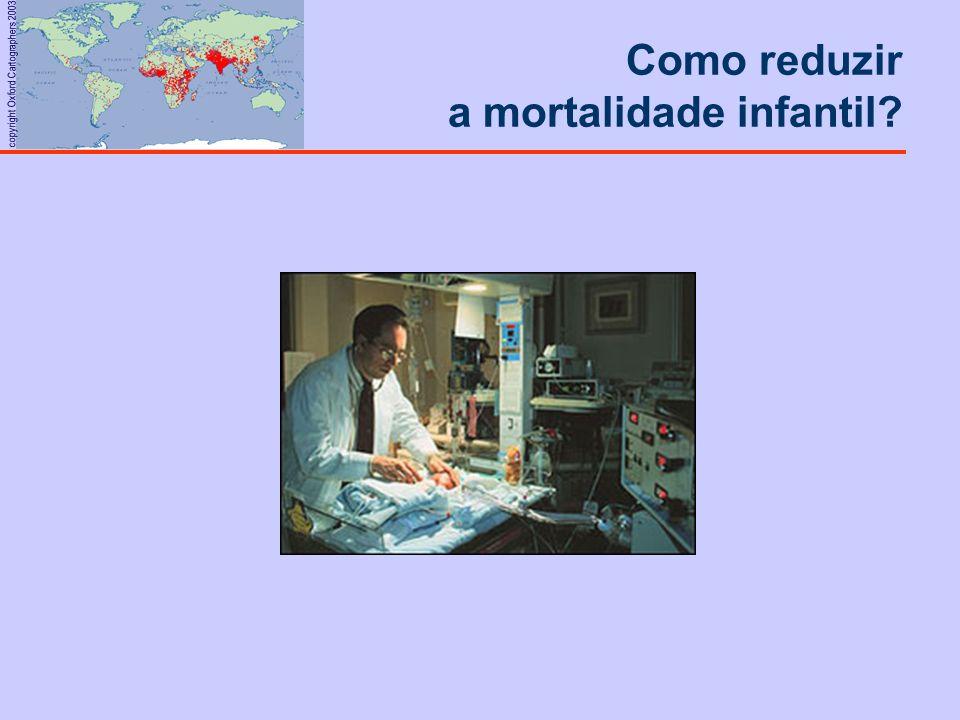 Como reduzir a mortalidade infantil