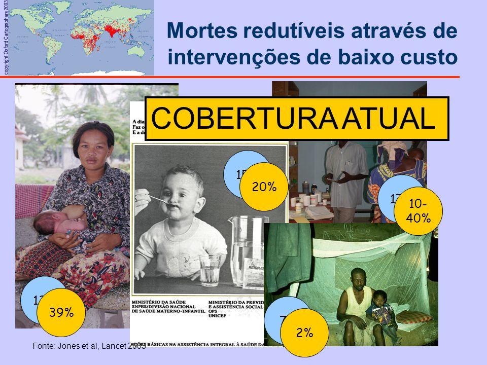 Mortes redutíveis através de intervenções de baixo custo