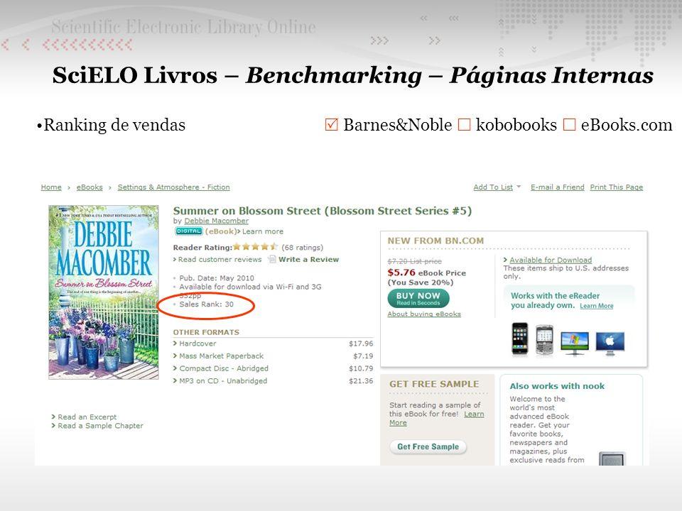 SciELO Livros – Benchmarking – Páginas Internas