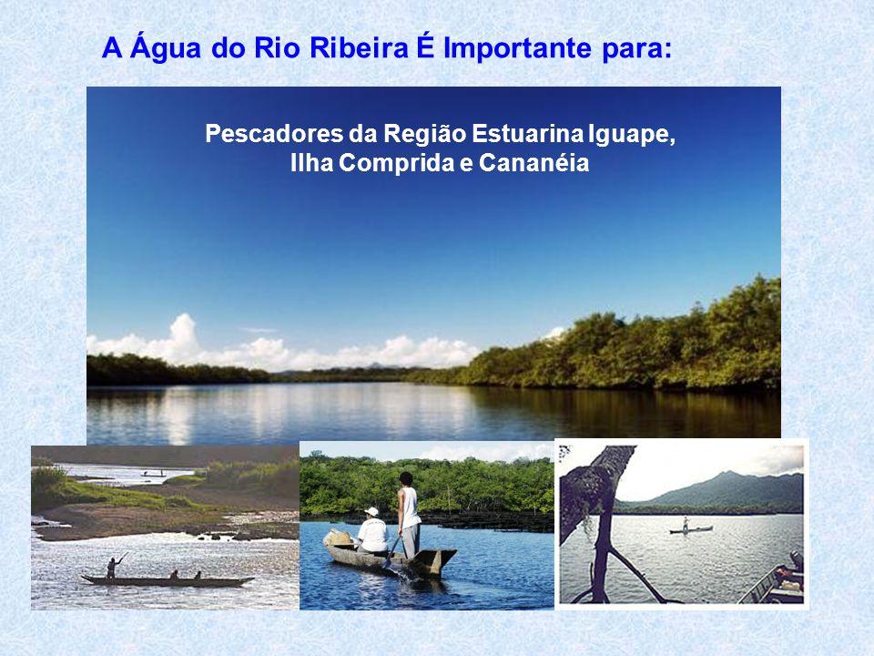 Pescadores da Região Estuarina Iguape, Ilha Comprida e Cananéia