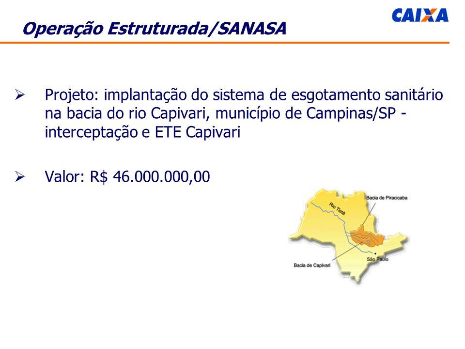 Operação Estruturada/SANASA