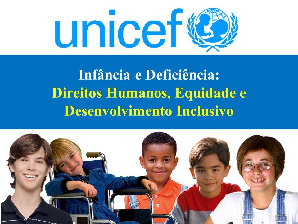 Infância e Deficiência: Direitos Humanos, Equidade e Desenvolvimento Inclusivo