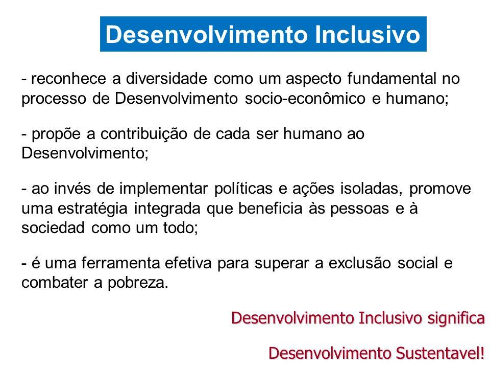 Desenvolvimento Inclusivo