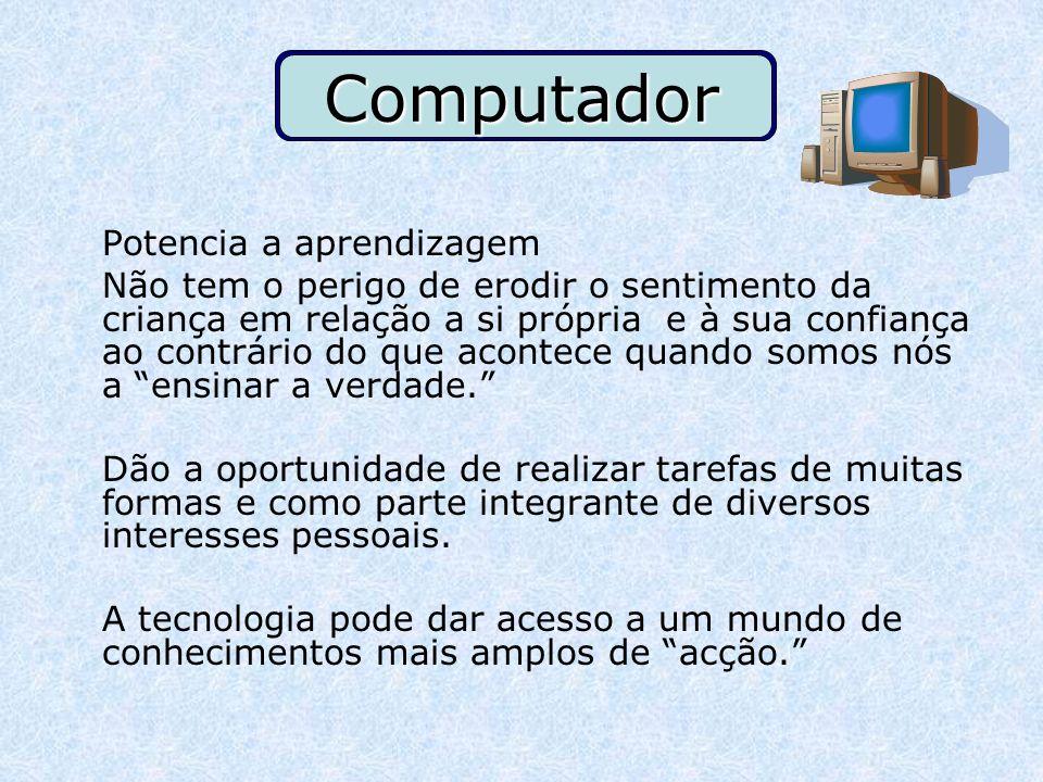 Computador Potencia a aprendizagem