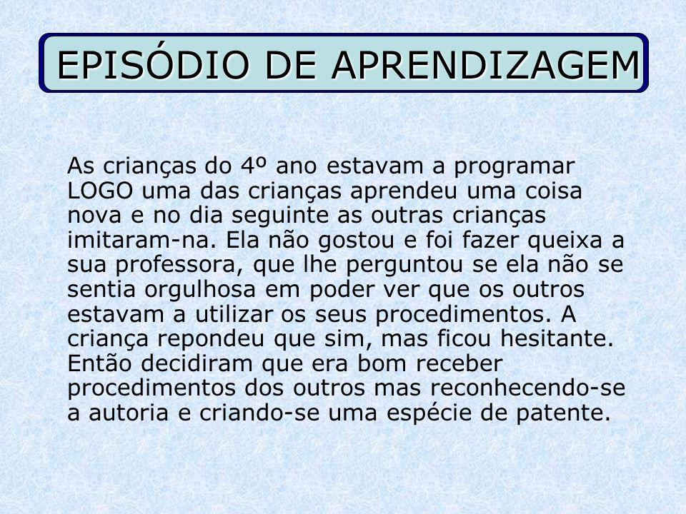 EPISÓDIO DE APRENDIZAGEM