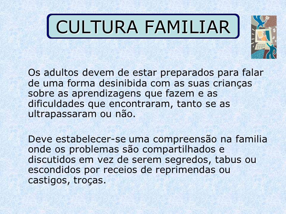 CULTURA FAMILIAR