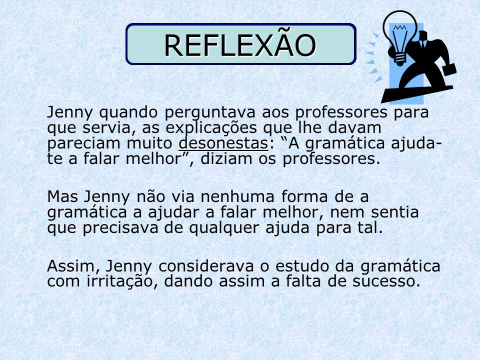 REFLEXÃO