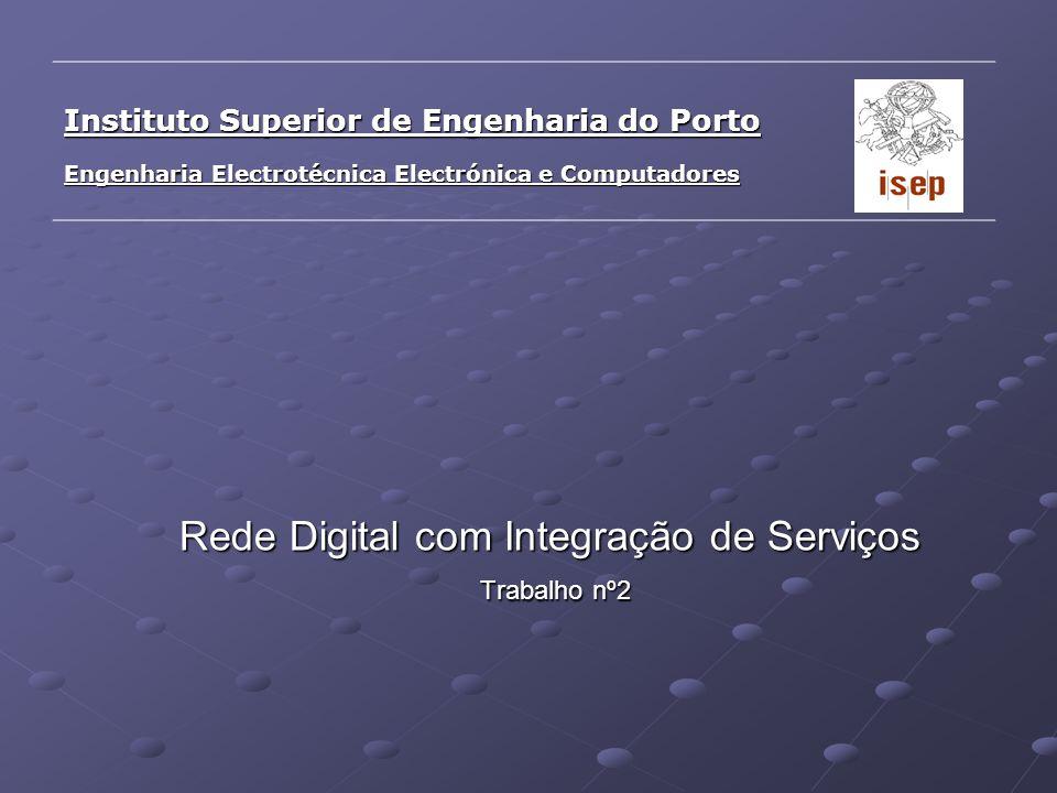 Rede Digital com Integração de Serviços Trabalho nº2