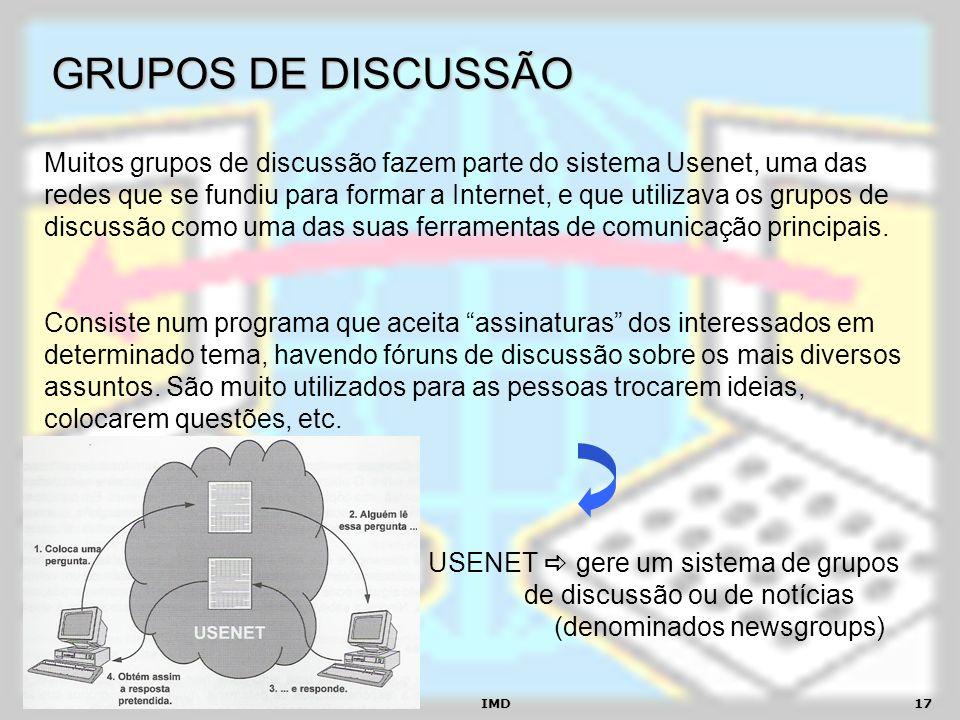 GRUPOS DE DISCUSSÃO