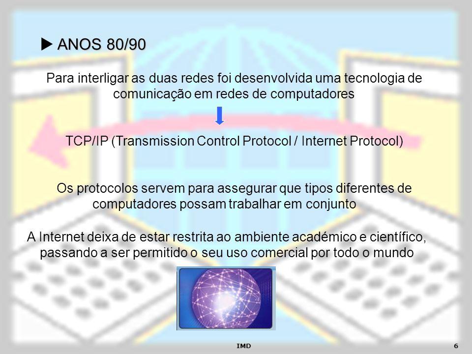 TCP/IP (Transmission Control Protocol / Internet Protocol)
