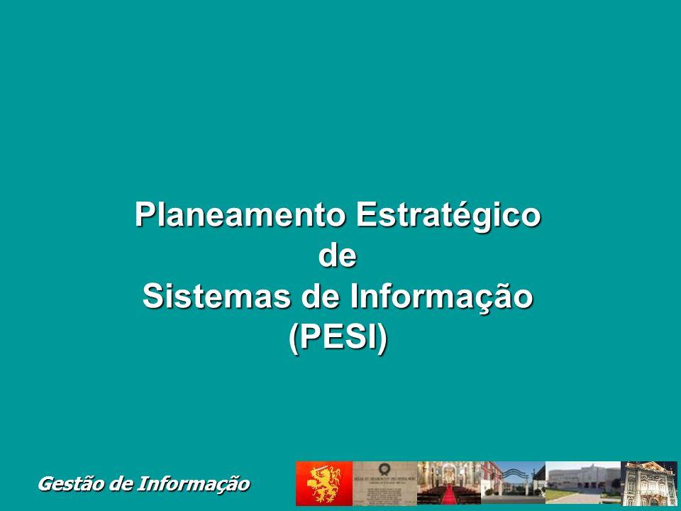Planeamento Estratégico de Sistemas de Informação (PESI)