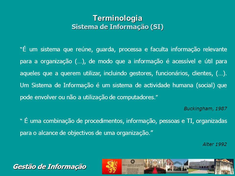 Terminologia Sistema de Informação (SI)