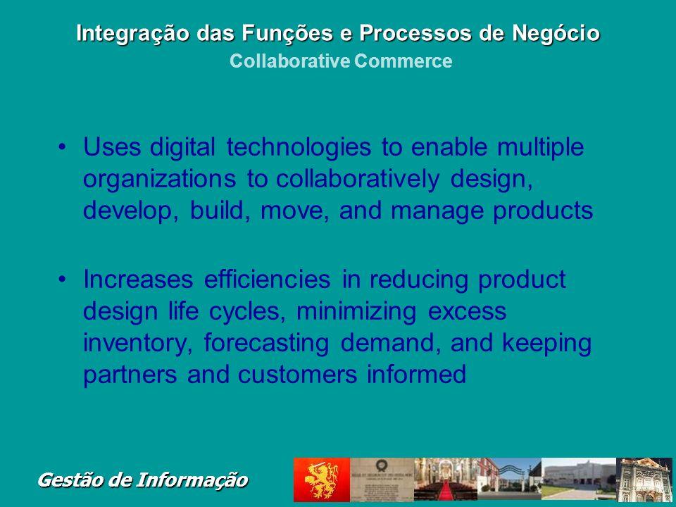 Integração das Funções e Processos de Negócio Collaborative Commerce