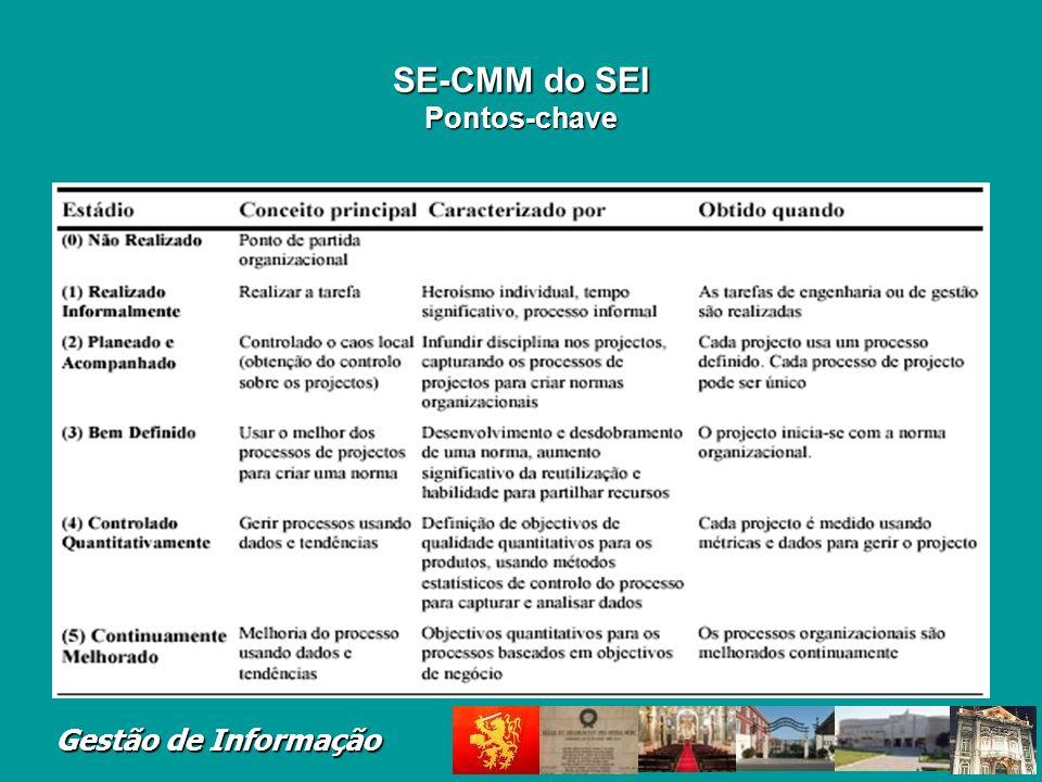SE-CMM do SEI Pontos-chave